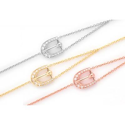 Diamond Buckle Bracelet