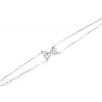 Tug of Hearts Bracelet