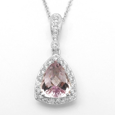 Diamond & Amethyst Necklace