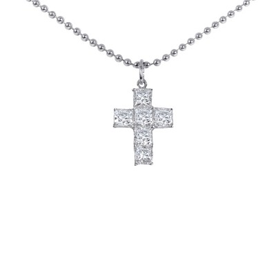Platinum Diamond Cross