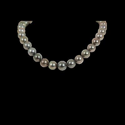 Black South Sea Pearl Necklace