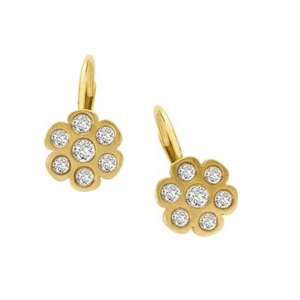 Golden Petals Earrings