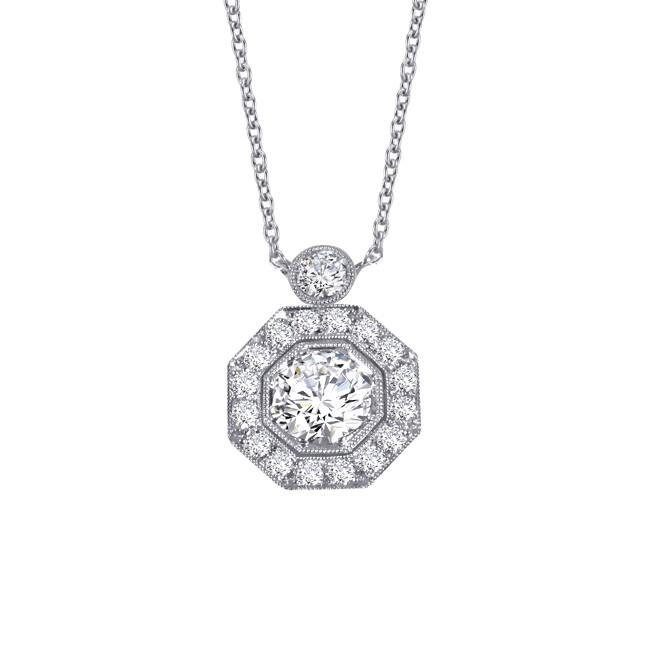 Platinum Diamond Pendant