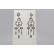Fabulous diamond chandelier earrings.