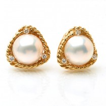 Moby Pearl Earrings