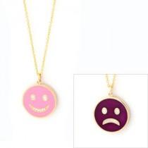 Happy Sad Colored Necklace