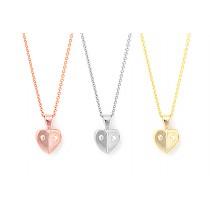 Poker Heart Necklace