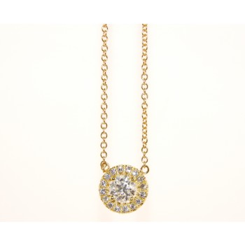 18K Yellow Gold Necklace