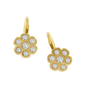 Golden Petals Earrings