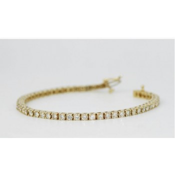 Simple tennis bracelet