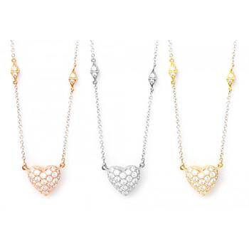 Bulletproof Heart Necklace