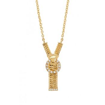 Zip Me Up Necklace