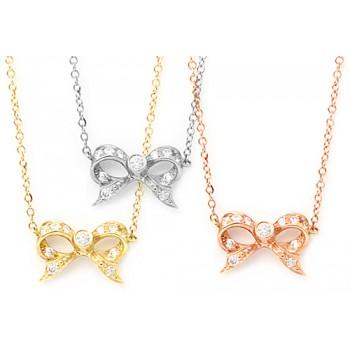 Surprise Ribbon Necklace